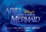 Genesis Ariel Disney's The Little Mermaid 1