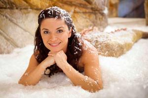 Rita Covered in Foam
