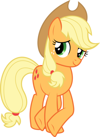 File:Applejack legs crossed vector by almostfictional-d5fdzx1.png