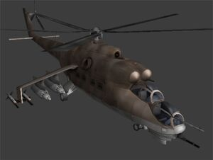 Hind D Pic 1 (Metal Gear Solid 2 The Document of)