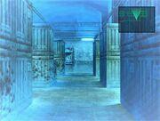 Warehouse in Metal Gear Solid
