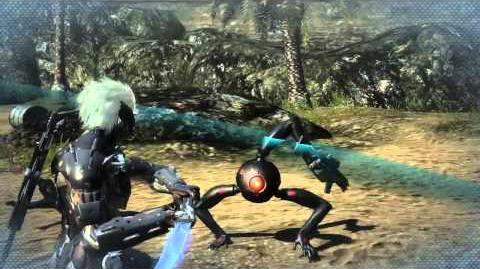 "Metal Gear Rising Revengeance - Dwarf Gekko ""Cut at Will"" Gameplay MetalGearSolidTV"