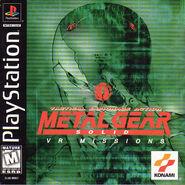 Metal Gear Solid VR Missions boxart
