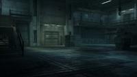 The Tank hangar (Metal Gear Solid 4)