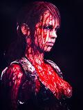 Bloody-Quiet-MGSV-Poster-Horror-Quiet