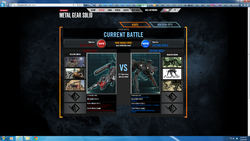 Bladewolf vs Crying Wolf on the official site's vs. page