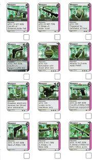 Metal gear cardset 1
