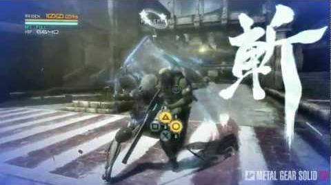 Metal Gear Rising Revengeance - Cut At Will And Zandatsu MetalGearSolidTV.com