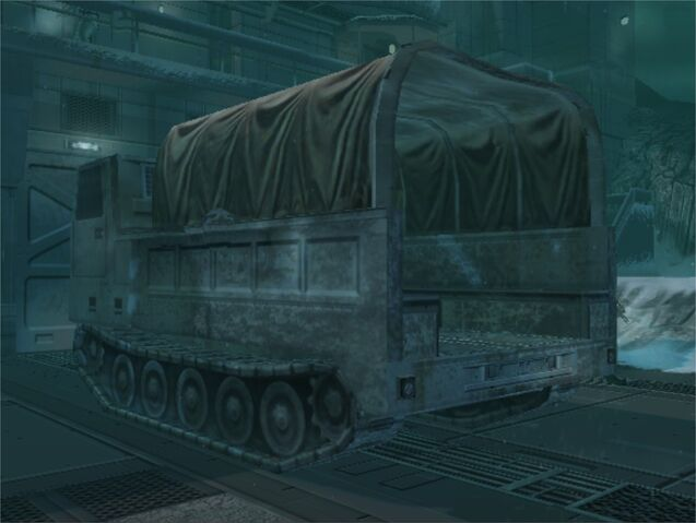 File:Back of the M548 in the Heliport (Metal Gear Solid The Twin Snakes).jpg