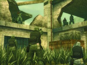 MGS3 Subsist Map G Factory