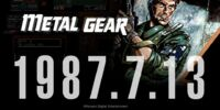 Metal Gear 30th Anniversary