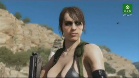 E3 2013 - Metal Gear Solid 5 Phantom Pain Xbox One Gameplay メタルギアソリッド5:ファントムの痛みゲーム