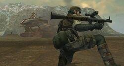 MGS3 RPG7 Snake