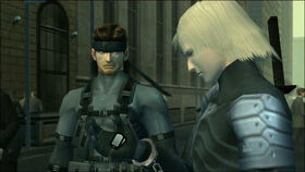 MGS2 Snake & Raiden, Dog Tags