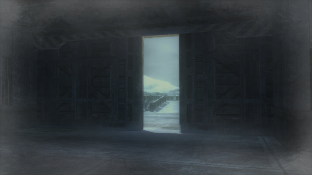 File:The front hangar door has been opened up (Metal Gear Solid 4).png