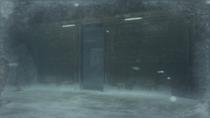 The front hangar door is open ~ Heliport (Metal Gear Solid 4)