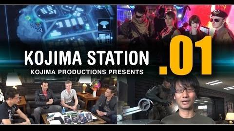 KOJIMA STATION (KojiSta) - Episode 01 METAL GEAR SOLID V GROUND ZEROES LAUNCH !