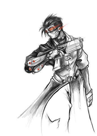 File:Cyborg merc by zombie ninja.jpg