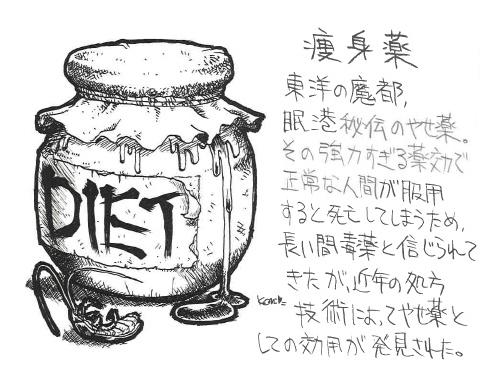 Diet Pill Artwork