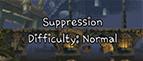 MSA level Combat School Suppression Normal