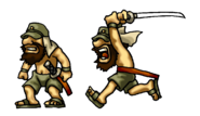 Samurai Sheet Enemies