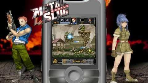 Metal Slug 4 Mobile Game Trailer