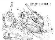 Girida-O In Action Artwork