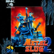 Metal Slug 2 Neo-Geo CD Cover
