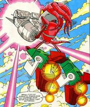Mecha knuckles knuckles