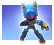Metal sonic spiral knights