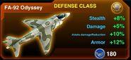 The FA-92 Odyssey