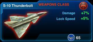 S-10 Thunderbolt
