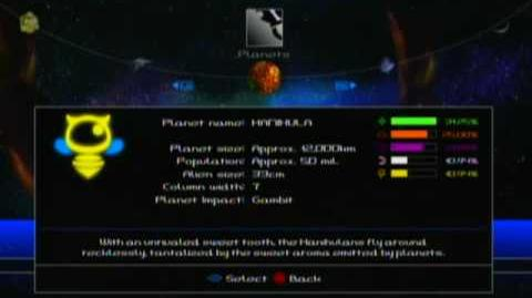 Meteos Wars - Planet Profiles