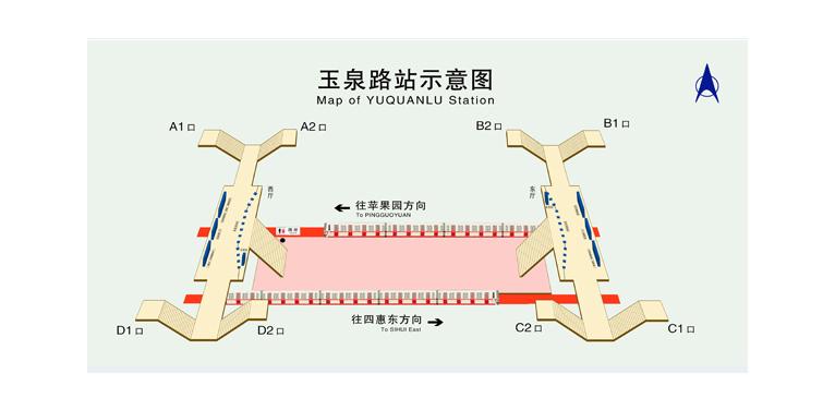 Yuquanlu BJ map