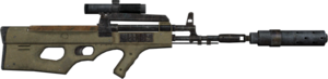 AK2012 scope silencer laser sideview dirty M2033