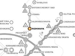 Rizhskaya(Riga)