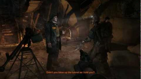 Metro 2033 (Action hardcore challenge walkthrough) Cursed