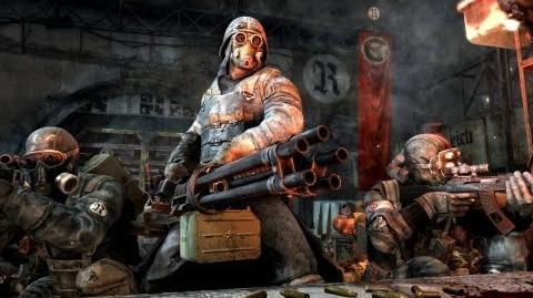 Metro Last Light - Faction Pack DLC (Reich - Heavy Squad)