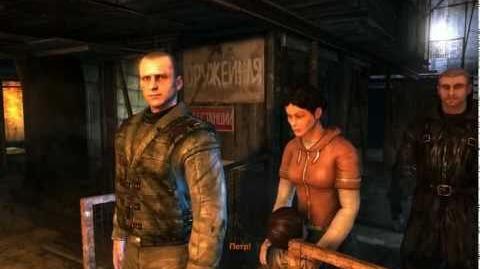 Metro 2033 (Stealth hardcore challenge walkthrough) Chapter Hunter