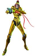 Bayonetta 2 Samus costume artwork