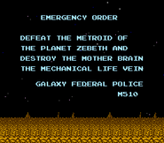 Mission Orders Title Screen