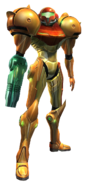 Transparent Samus Metroid Prime