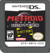 First Hunt cartridge