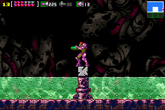File:Metroid Zero Mission - Tourian after destruction.png