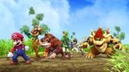 Confronting Duck Hunt Dog (Wii U)