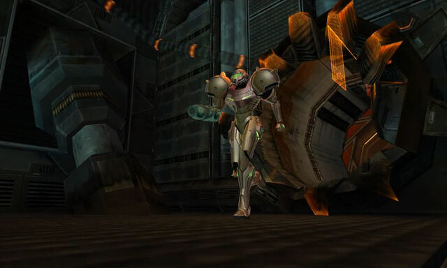 File:Samus enters Biotech Research Area 2 Dolphin HD.jpg