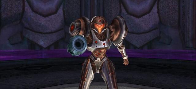 File:Dark Torvus Temple Samus battle ready Dolphin HD.jpg