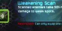 Weakening Scan
