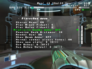 MP3 gun menu