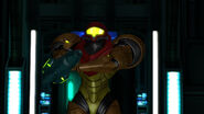 Samus enters Bioweapon Research Centre HD
